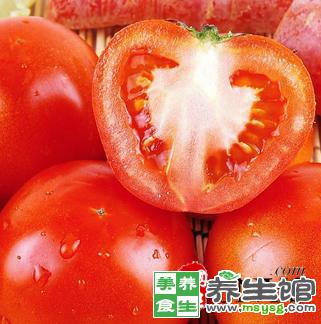 秋季吃西红柿