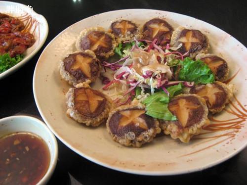肉末粉丝香菇饼的做法