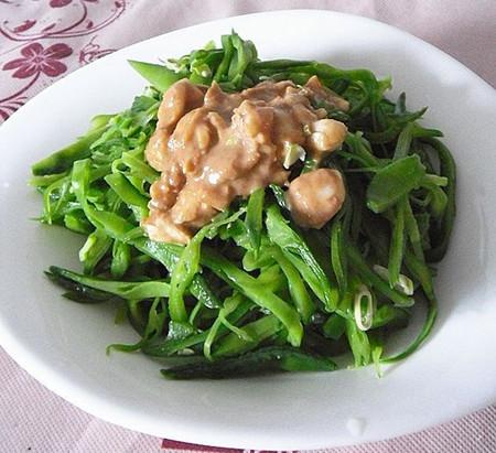 芝麻酱拌扁豆