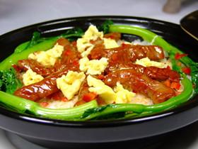 上班族午餐之滑蛋牛肉饭的做法