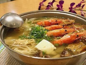 黄芪淮山河虾汤