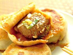北京著名小吃门丁肉饼