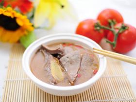 明目润肤猪肝汤的做法