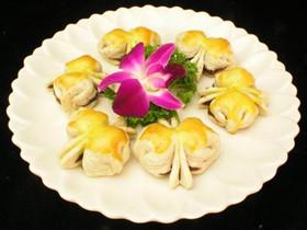 老北京风味的经典小吃 美丽的蝴蝶酥
