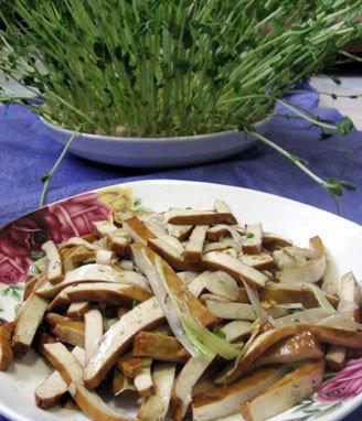 葱香豆腐干的做法