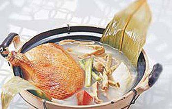 粤式海鳗鸡骨汤的做法