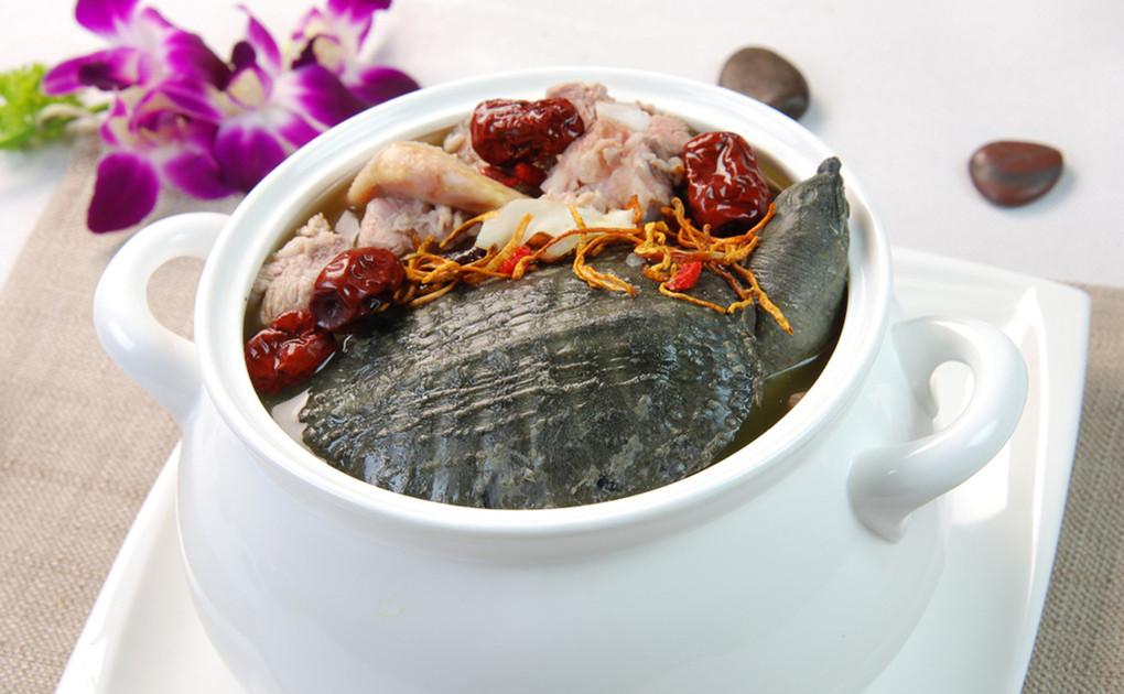 鸡火甲鱼汤
