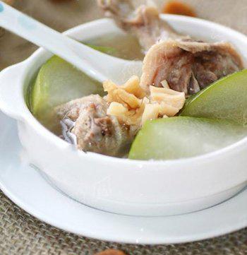 火腿冬瓜虾皮汤