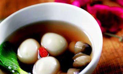 为男士打造的食谱 海参鸽蛋汤