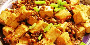 鸡汁南豆腐