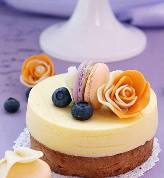 香橙蓝莓法式蛋奶塔的食疗功效和制作方法