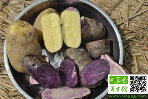 便秘能吃黑土豆吗