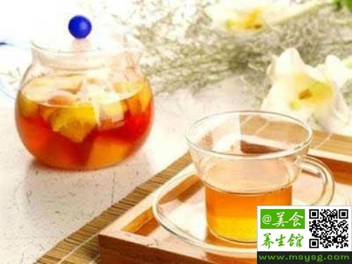 玫瑰柠檬茶的功效