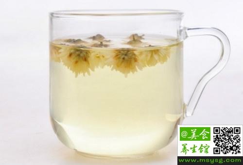 菊花茶能减肥吗