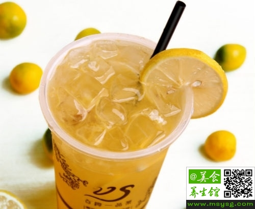 金桔柠檬茶的功效