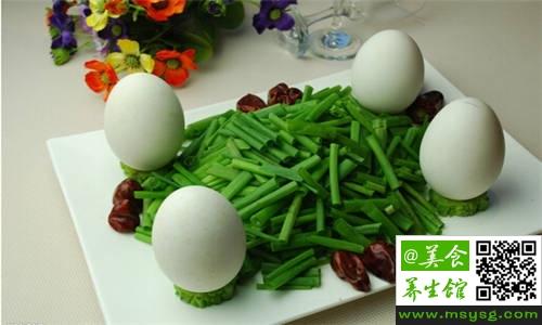 产妇能吃鹅蛋吗