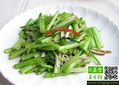 水芹菜有毒吗
