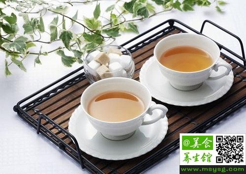 吃海鲜能喝茶砖吗