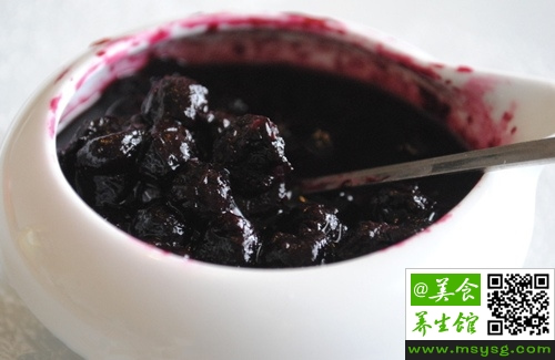 蓝莓果酱的药用价值