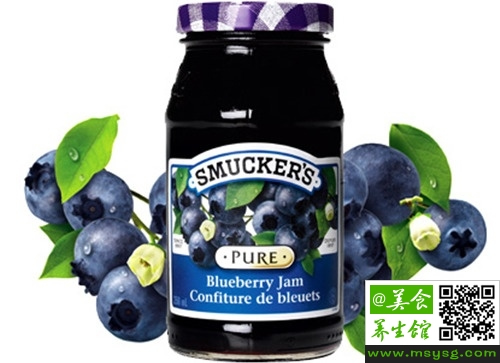 蓝莓果酱的用法用量
