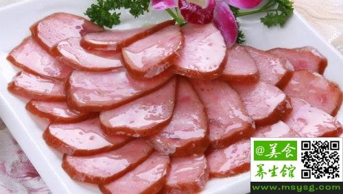 红肠的腌制方法