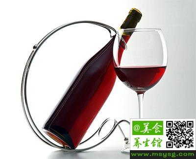 睡前喝红酒的好处