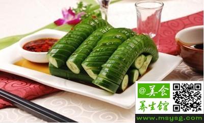 黄瓜与不同食物搭配(1)