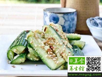 黄瓜与不同食物搭配(3)
