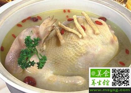 夏季进补鸡汤