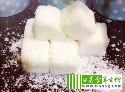 藕粉桂花糖糕
