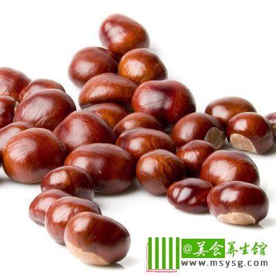 其次是一些水果类,如栗子和核桃也会引起甲状腺肿大