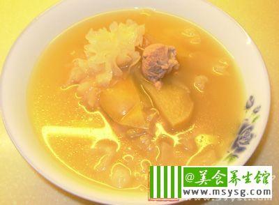 苹果猪腱汤