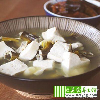 豆腐黄鳝汤