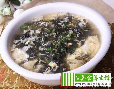 高血压吃海带紫菜汤
