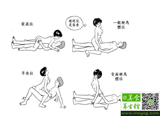 女人最喜欢的性爱姿势(2)